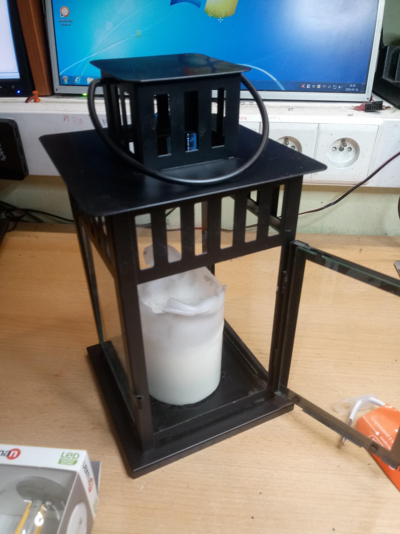 Zdalnie Sterowana Lampa Do Altany Kunapl Techniczny